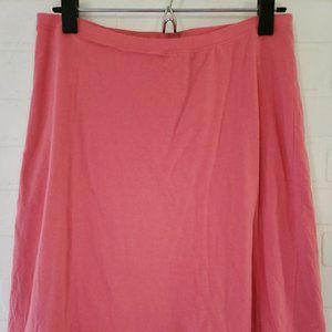 Horny Toad Lined Coral Skirt Small